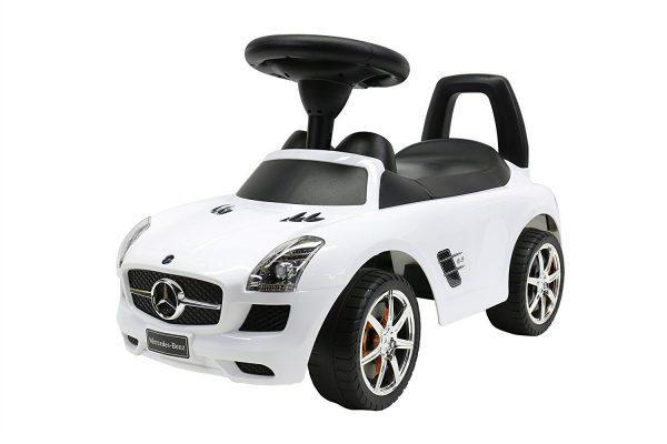 Auto guralica bijeli Mercedes