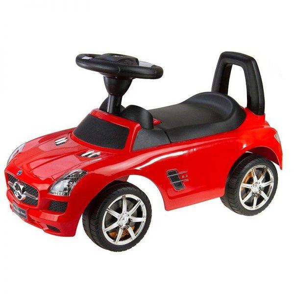 Auto guralica crveni Mercedes