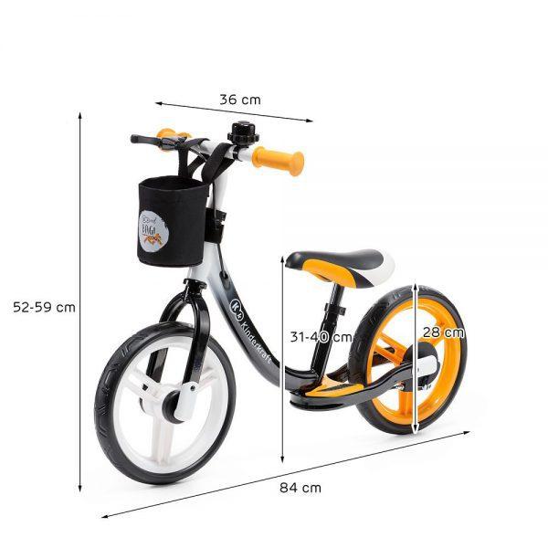 Bicikl bez pedala dimenzije