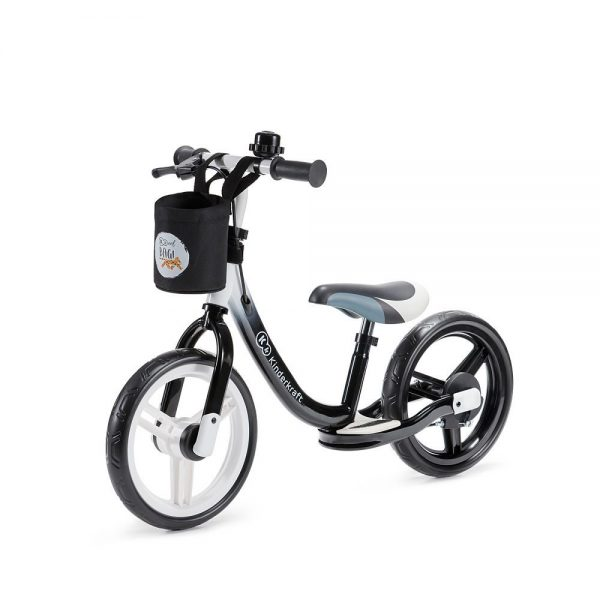 Bicikl bez pedala Kinderkraft Space crni