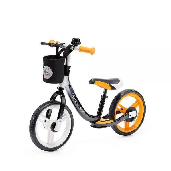 Bicikl bez pedala Kinderkraft Space narančasti