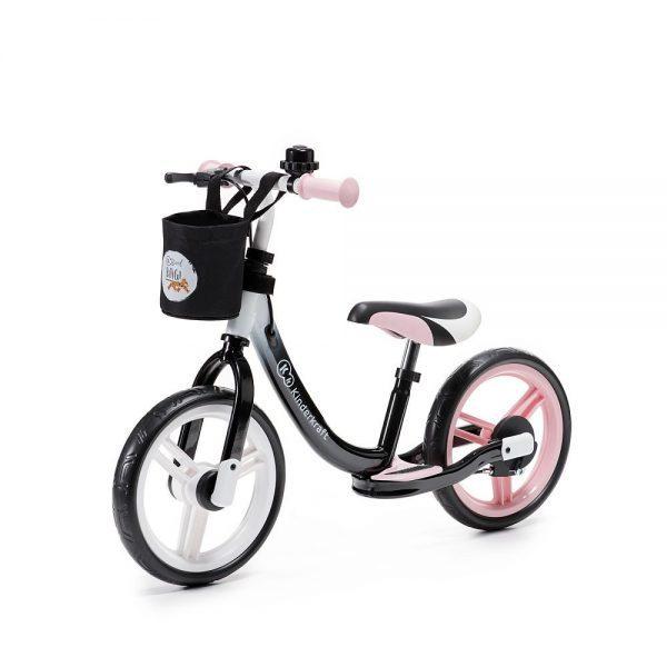 Bicikl bez pedala Kinderkraft Space rozi