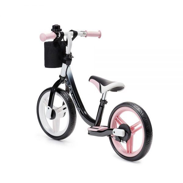Bicikl bez pedala za djecu rozi
