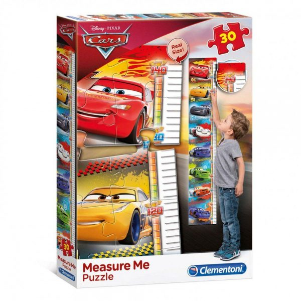 Cars puzzle visinomjer