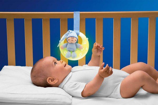 Chicco glazbeni mjesec igračka plava