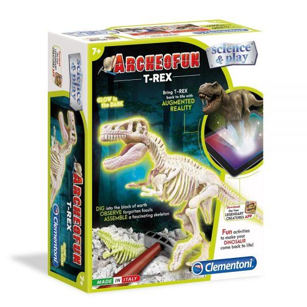 Clementoni arheološki set T-Rex dinosaur