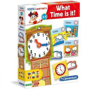 Clementoni slagalica Koliko je sati?