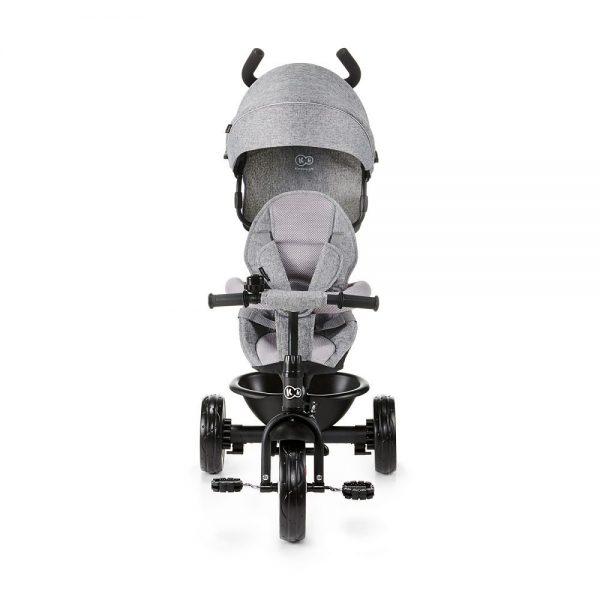 Dječja guralica tricikl Kinderkraft Aston siva