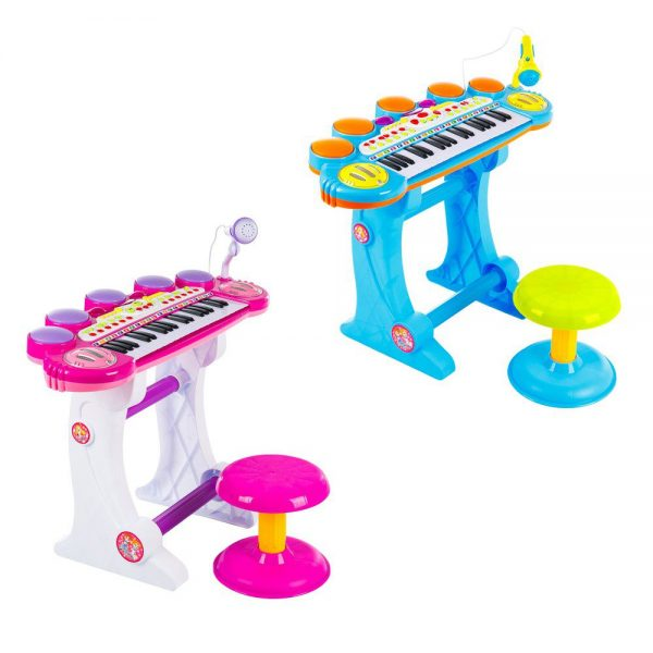 Dječje klavijature s mikrofonom na stalku