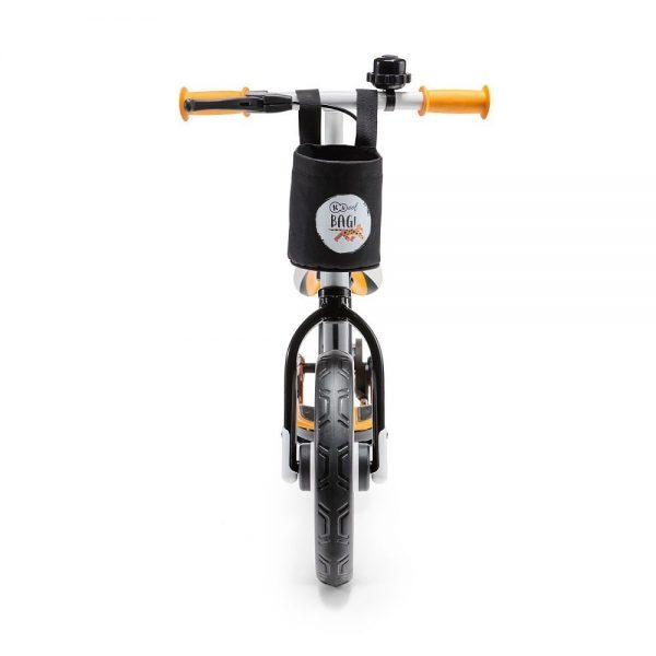 Dječji bicikl bez pedala narančasti