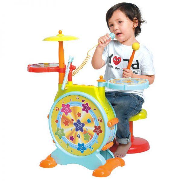 Dječji bubnjevi s mikrofonom