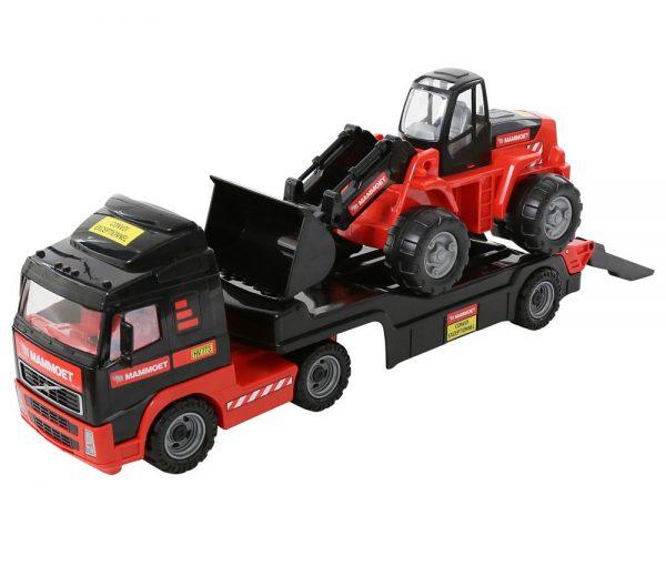 Dječji kamion i bager