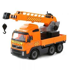 Dječji kamion s dizalicom Volvo