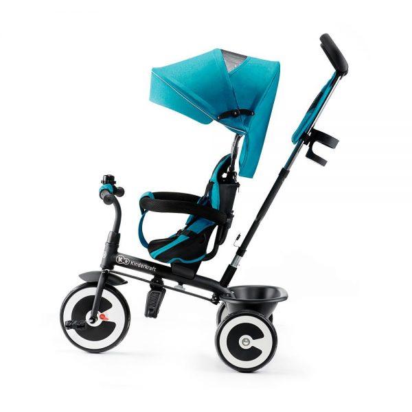 Dječji tricikl Kinderkraft Aston guralica plavi