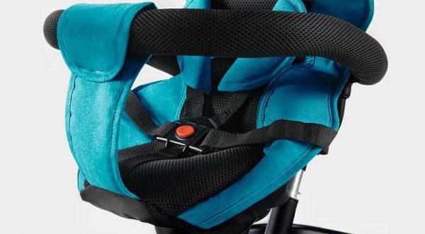 Dječji tricikl Kinderkraft Aston sigurnosni pojas