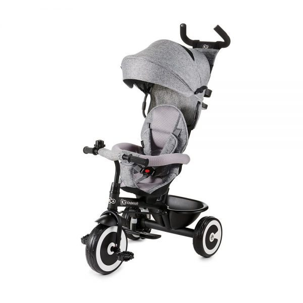 Dječji tricikl Kinderkraft Aston sivi