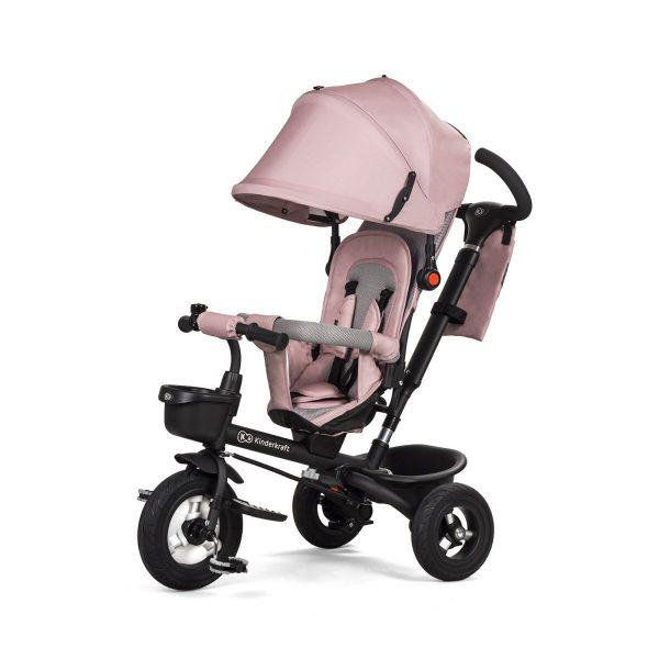 Dječji tricikl Kinderkraft Aveo ružičasti