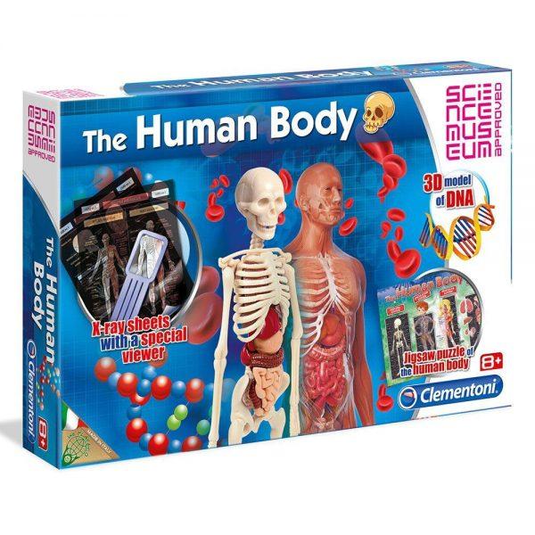 Dječji znanstveni set Ljudsko tijelo