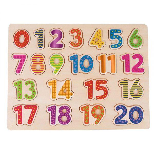 Drveni brojevi za učenje i igru