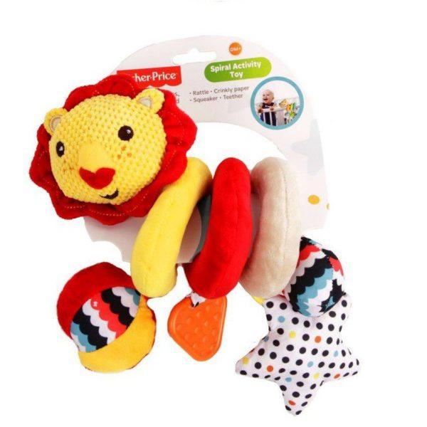 Fisher Price spiralna igračka lav