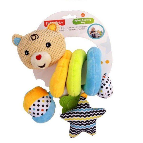 Fisher Price spiralna igračka medo