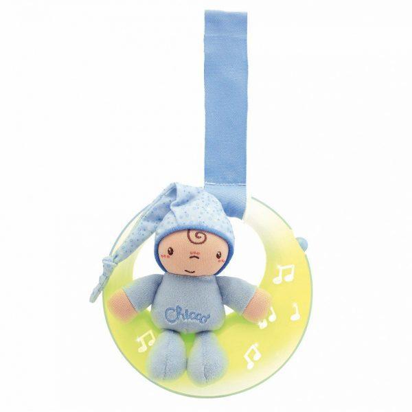 Glazbeni mjesec Chicco igračka za bebe plava