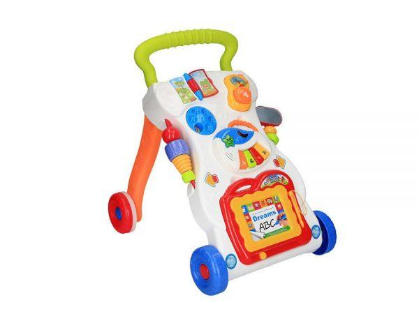 Guralica hodalica s didaktičkim igračkama