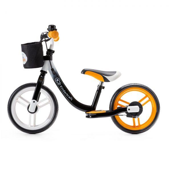 Kinderkraft Space bicikl bez pedala narančasti