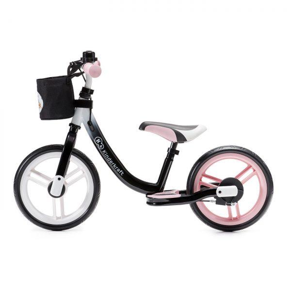 Kinderkraft Space bicikl bez pedala rozi
