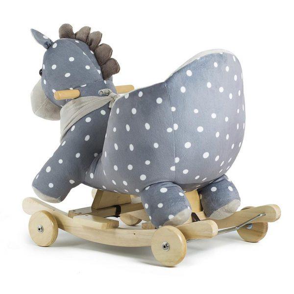 Konjić za ljuljanje sa sjedalicom