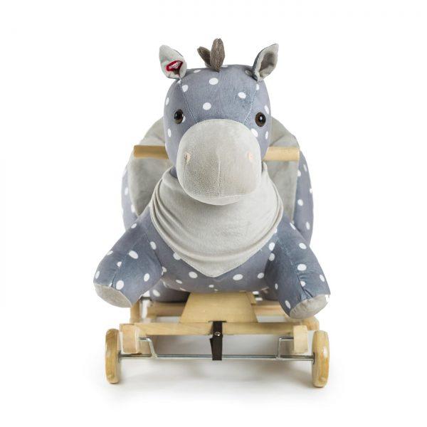 Konjić za ljuljanje za djecu sa zvukom