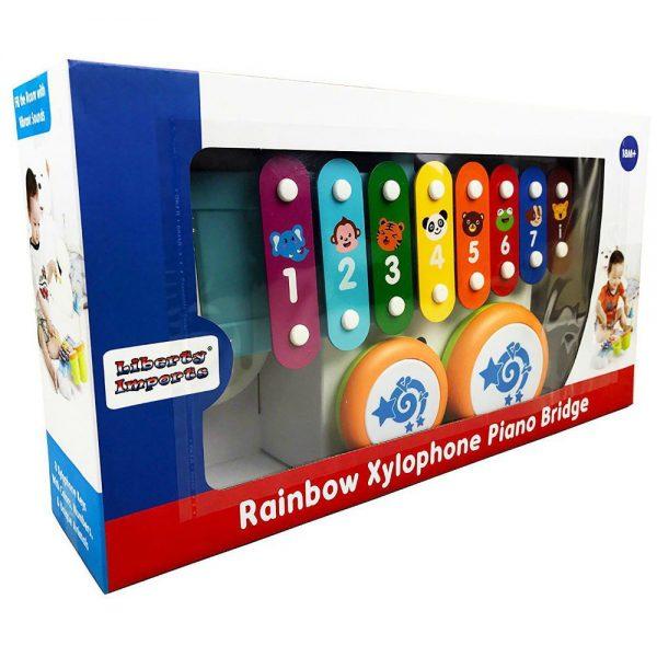 Ksilofon s bubnjevima dječje igračke