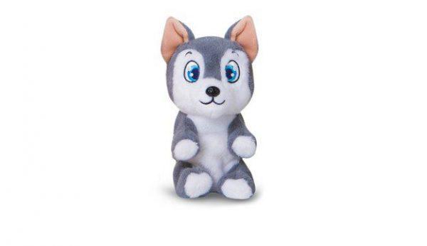 Mini tickles sivi psić