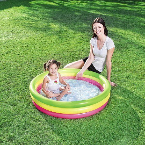 Okrugli dječji bazen