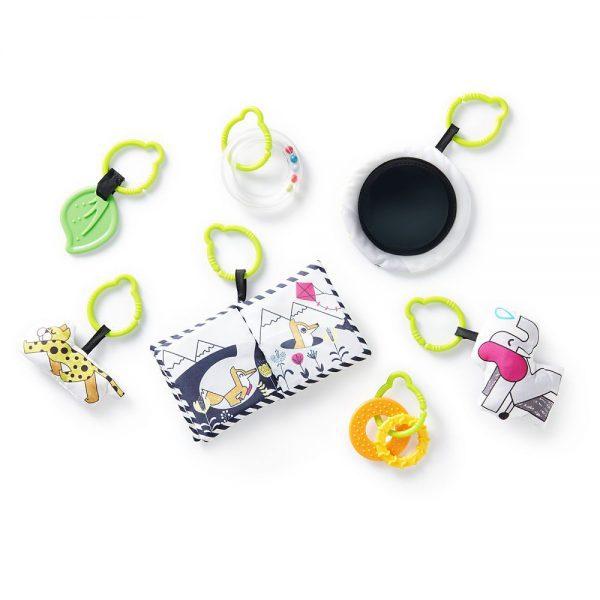 Podloga za bebe s igračkama Kinderkraft Smartplay