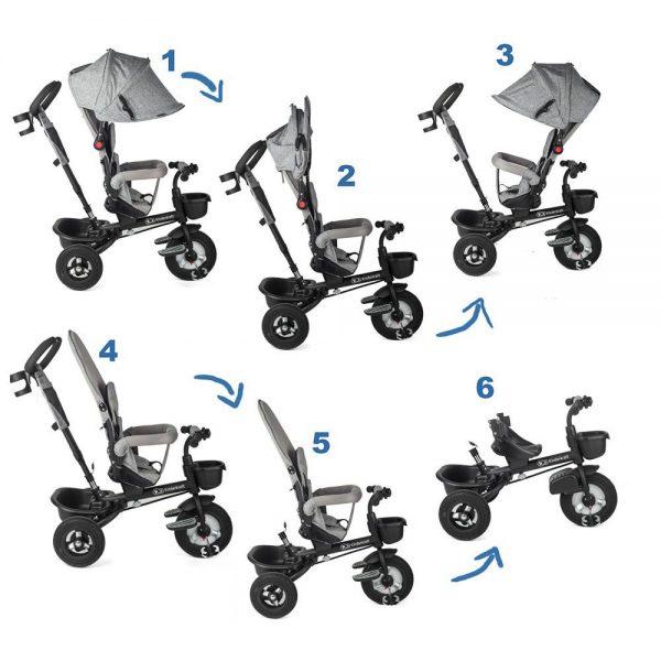 Prilagodljivi tricikl Kinderkraft Aveo