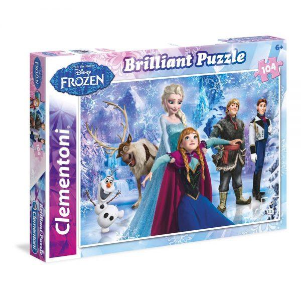 Puzzle Clementoni Frozen Brilliant
