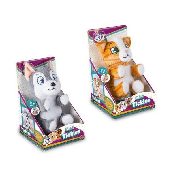 Škakljive plišane igračke Mini tickles