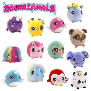 Squeezamals plišane igračke