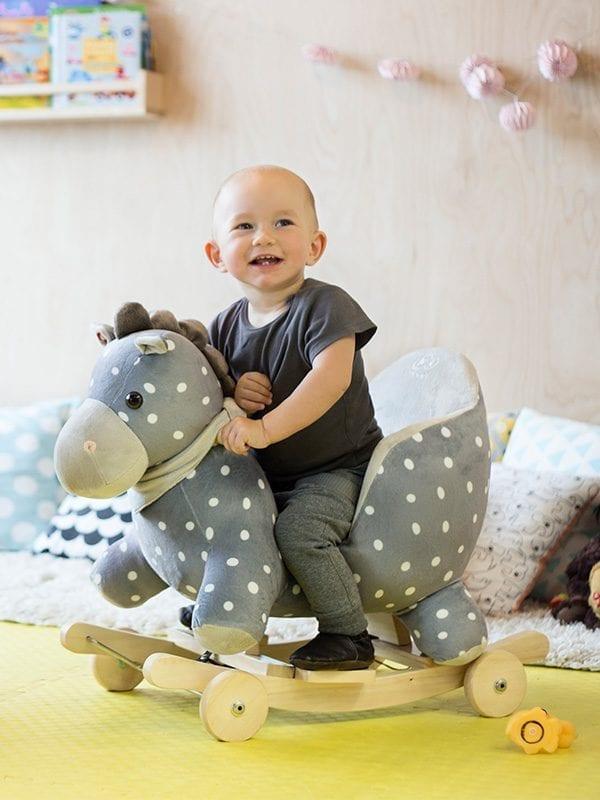 Točkasti konjić za ljuljanje Kinderkraft