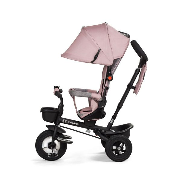 Tricikl guralica Kinderkraft Aveo ružičasti