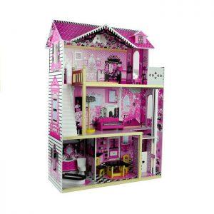 Drvena kućica za lutke Vila