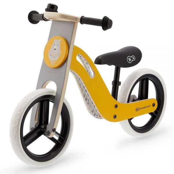 Bicikl guralica Kinderkraft Uniq žuti