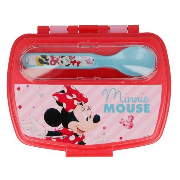 Dječja kutija i pribor za užinu Minnie Mouse