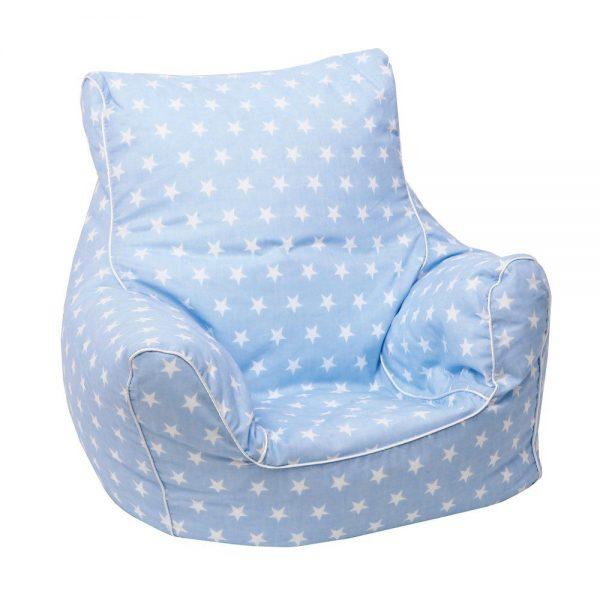 Dječja vreća za sjedenje Plava zvjezdice