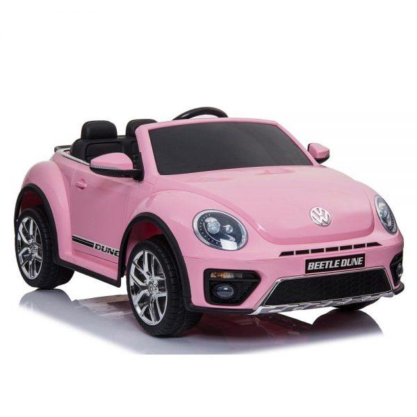 Dječji auto na akumulator VW Buba roza