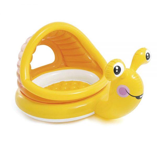 Dječji bazen sa sjenilom Puž