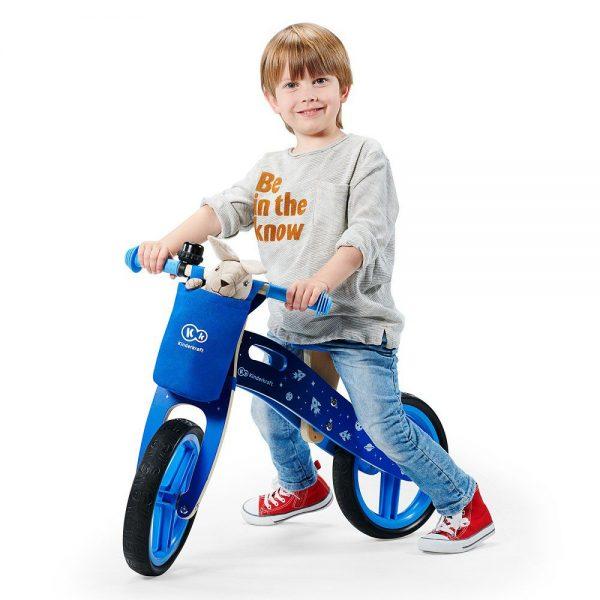 Dječji drveni bicikl guralica
