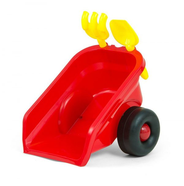 Dječji traktor guralica s prikolicom i dodacima
