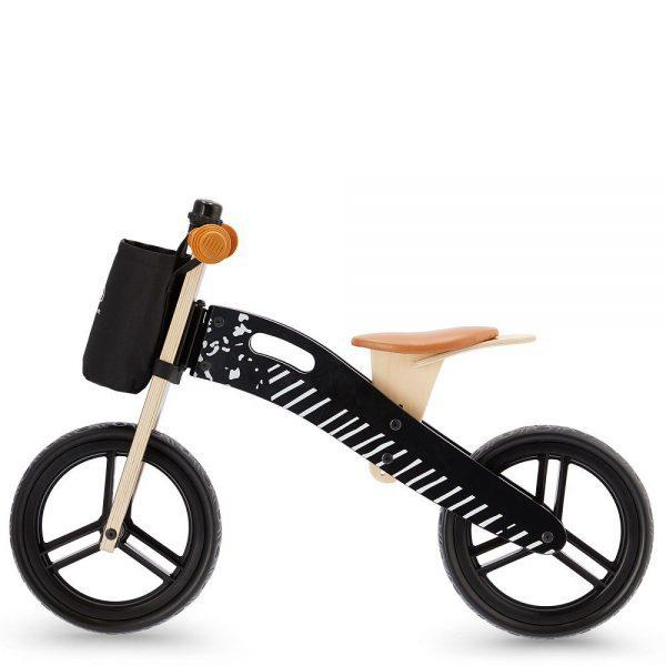 Drveni bicikl bez pedala Kinderkraft Runner crni
